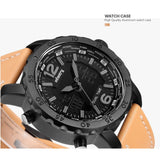 Luxury Aviator Army Leather Watches for Men