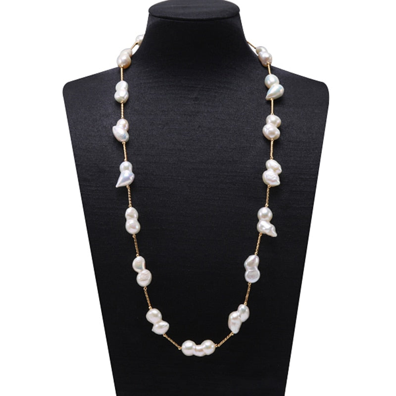 Freshwater Cultured Baroque Pearl Necklace