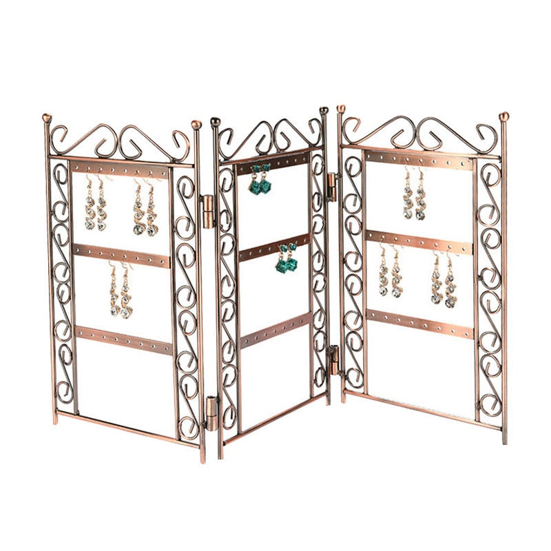 Jewelry Organizer Folding Earrings Display Stand