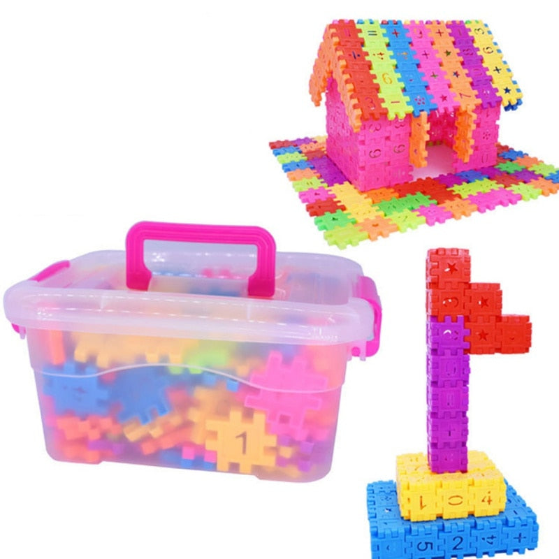 Kids Plastic Interconnecting Blocks