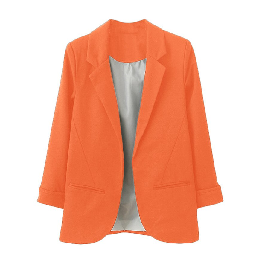 Nine Quarter Cuffed Sleeve Women's Blazers