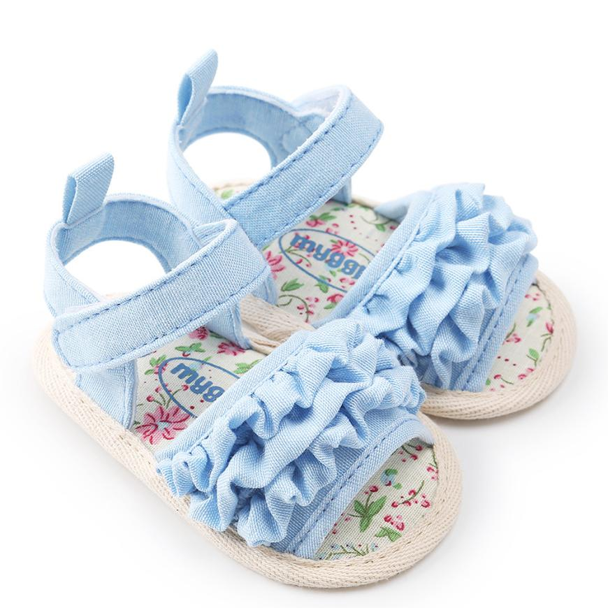 Low Price Loss Sale Baby Flower Sandals