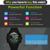Men Sport LED Watch