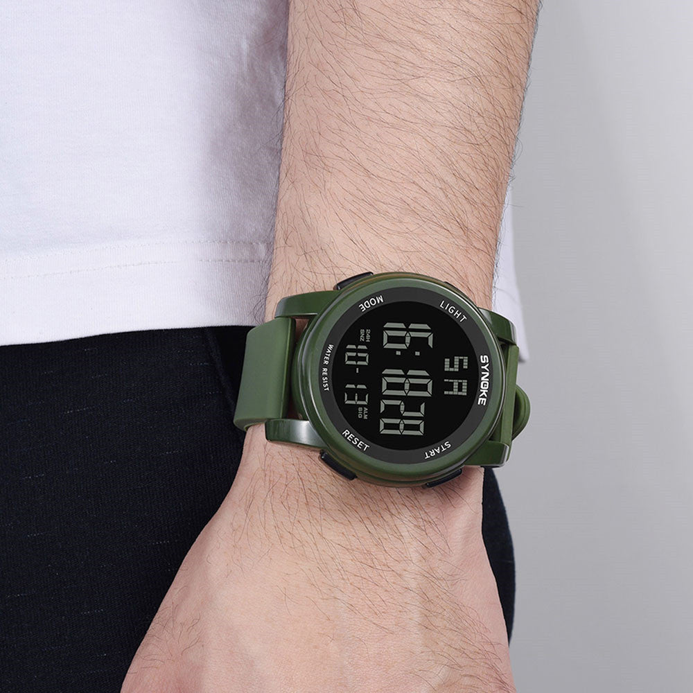 Men's  Multi Function Military Sports Watch