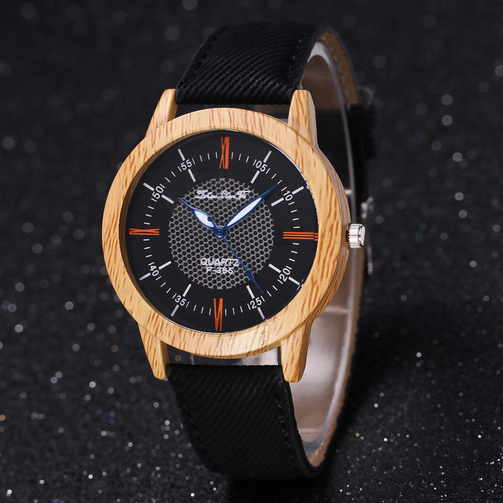 Nature Wooden Watch Minimalist Clock