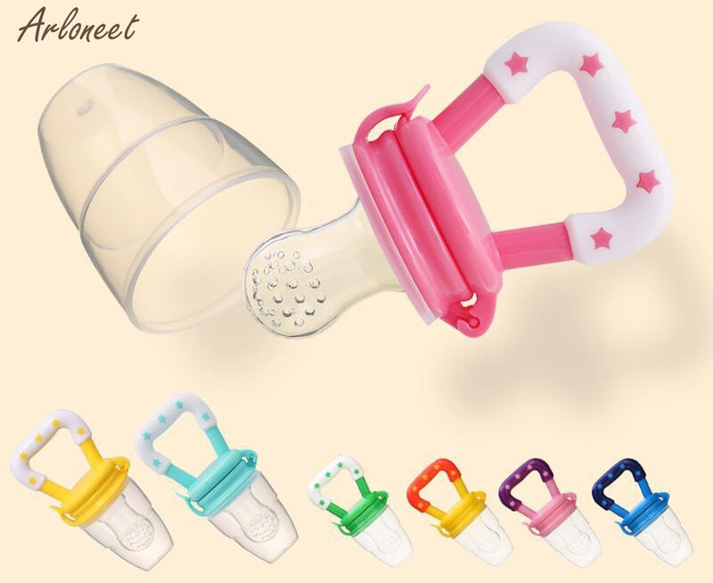 Baby Gel Teether Toddler Vegetable Silicone Teething Toy Molar Chewable Soother
