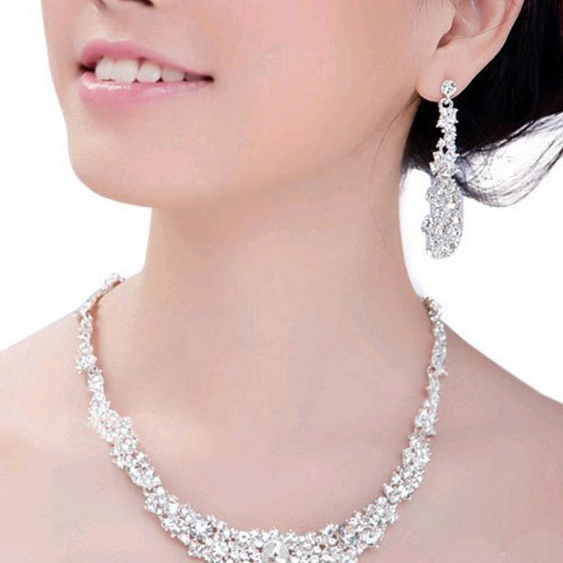 New Elegant Bridal Jewelry Sets for Women