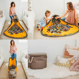 New Portable Kids Toy Storage Bag and Play Mat