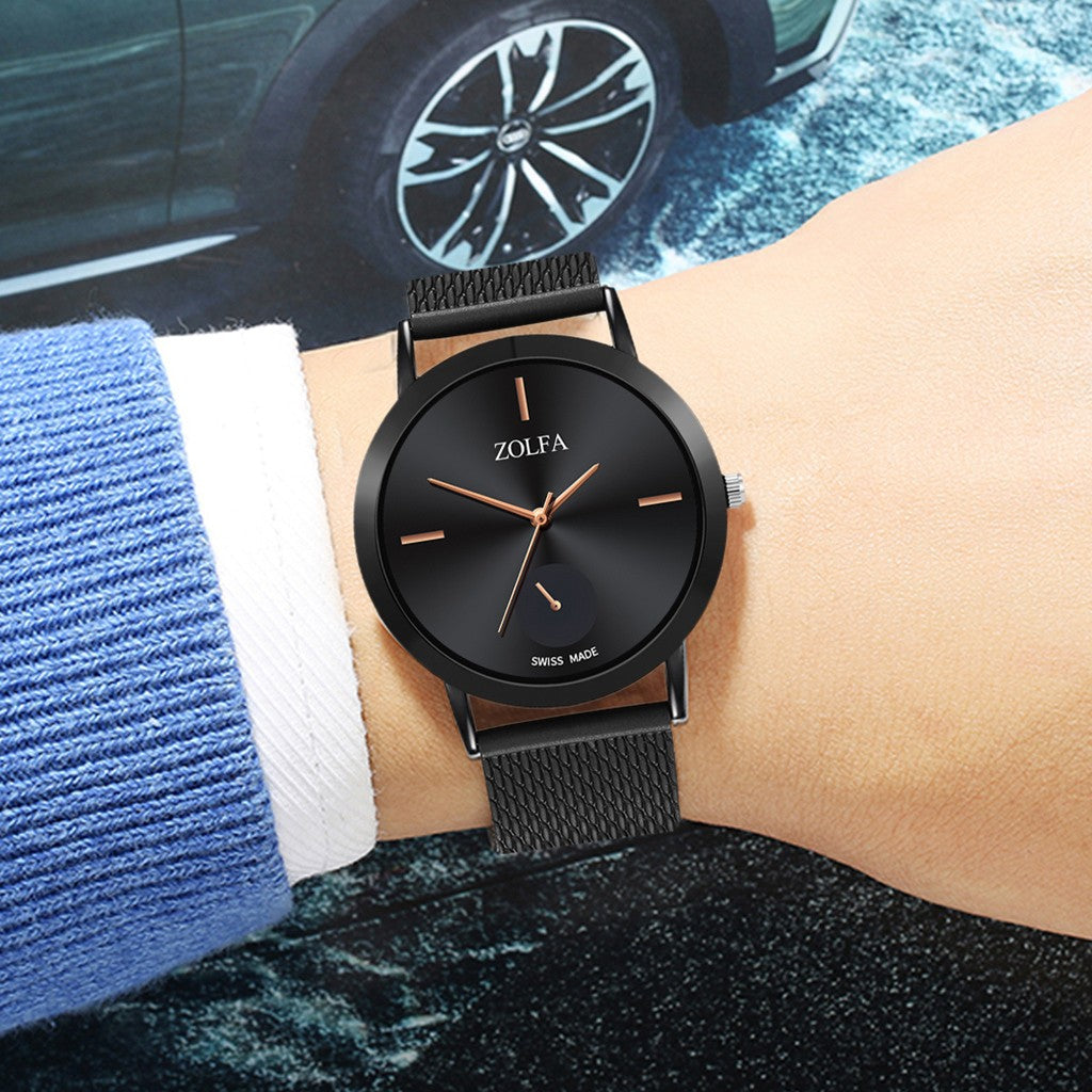 Luxury Stainless Steel  Casual  Watch