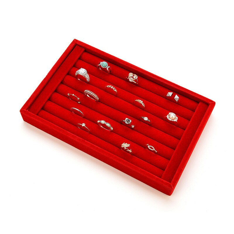 Ring Earrings Organizer Ear Studs Display Stand Holder Rack