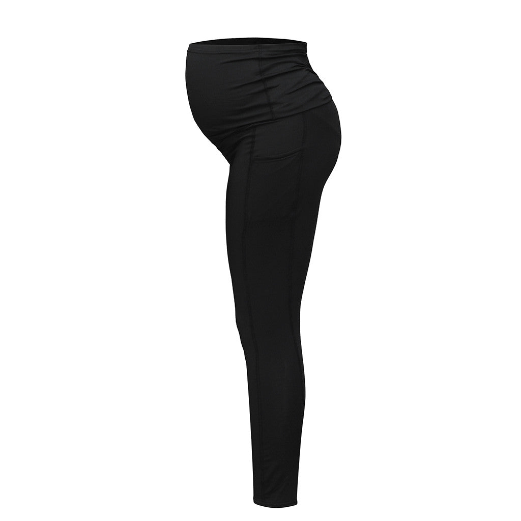 Women Pregnant Pants Elastic  Maternity Jeans Pants