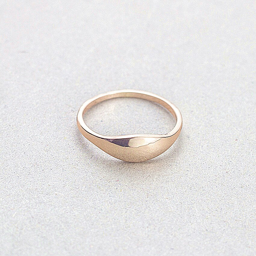 Simple Stackable Finger Rings