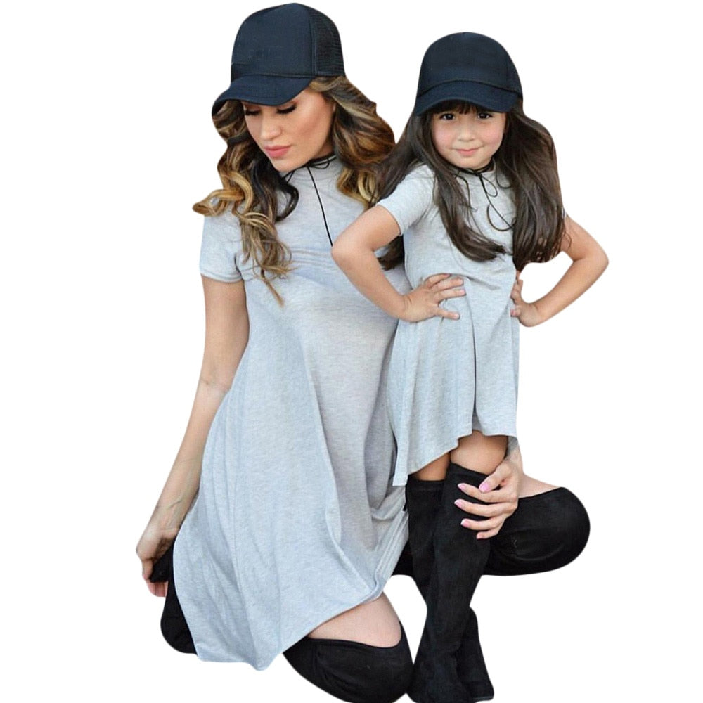 Stylish Bar Mom Baby Family Outfits