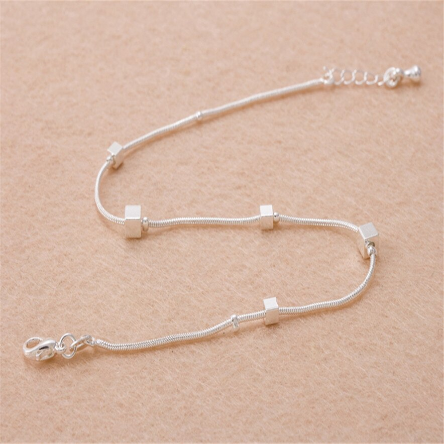 Stylish Jewelry summer Small Box Women's feet Chain Ankle Bracelet