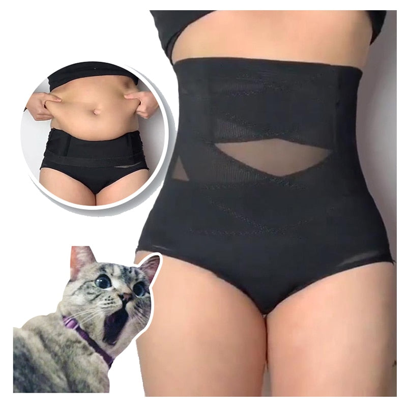 Women High Waist Trainer Body Shaper