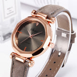 Women Fashion Exquisite Women Leather Casual Watch