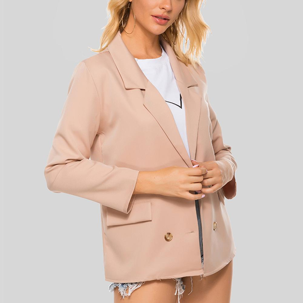 Solid Color Simple Fashion Commute Elegant Women's Blazers