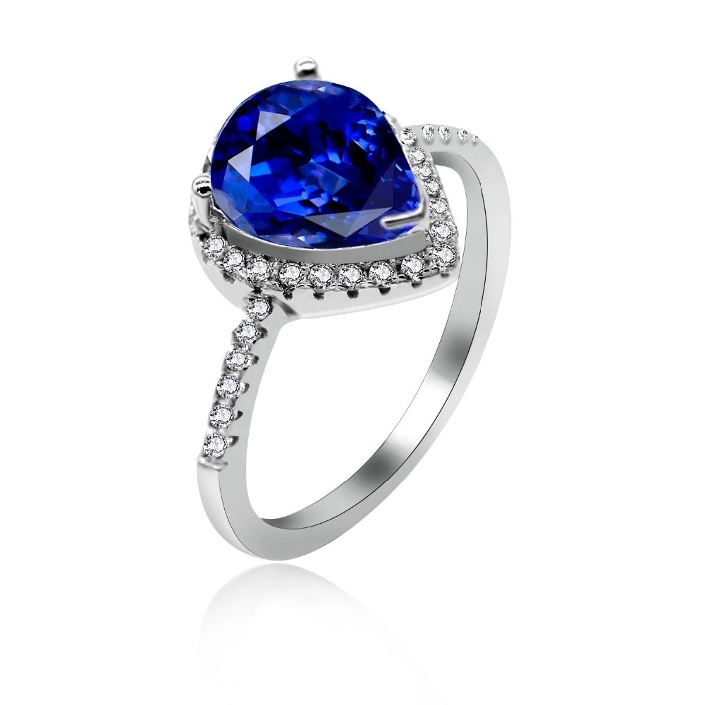 5A Zirconia Birthstone 925 Sterling Silver Ring