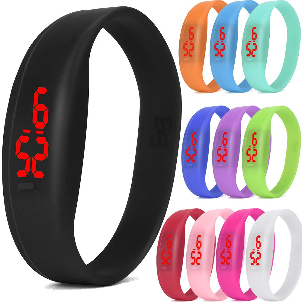 Fashion Women Digital LED Sports Watch