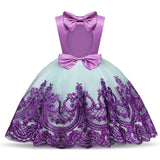 Girls First Birthday Dress for Newborn Baby Toddler Princess Halloween Carnival Dresses Kids Girl Party Prom Gown Clothing Wear