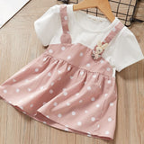 Keelorn Baby Girl Dress Princess 2020 New Spring Spring Baby Clothes Long Sleeve Fake 2 Piece Party Dress baby girl clothes kids