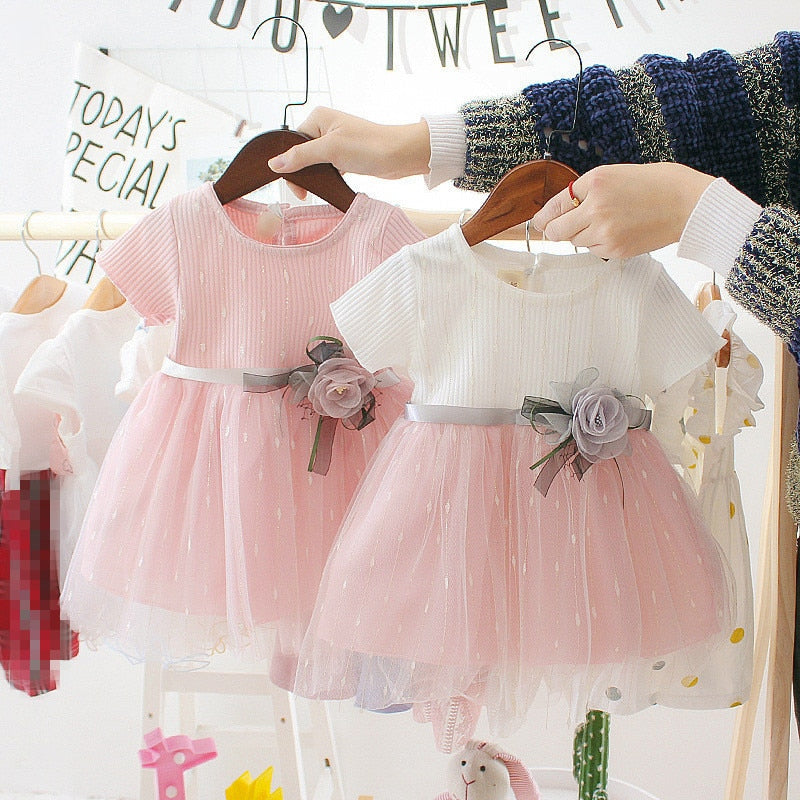 Newborn Baby Girl Dress for Girl 1 Year Birthday Dress 2019 New Fashion Cute Princess Baby Dress Infant Clothing Toddler Dresses