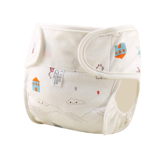 Waterproof Baby Cloth Diaper Cotton Washable Diaper