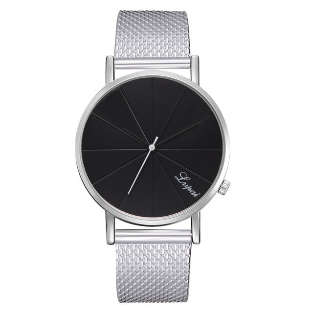 Women's Minimalist silicone Mesh Simple Watch