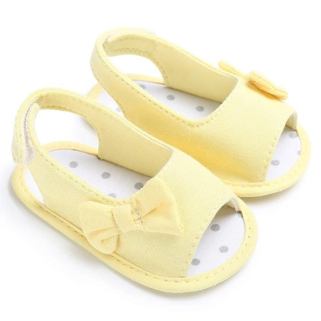 Soft Sole Bowknot Shoes