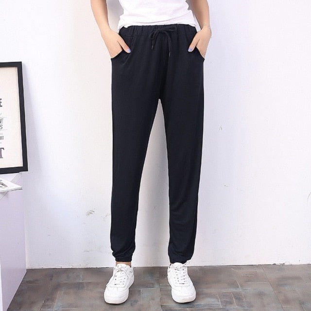 Spring and summer Women Casual Sweatpants