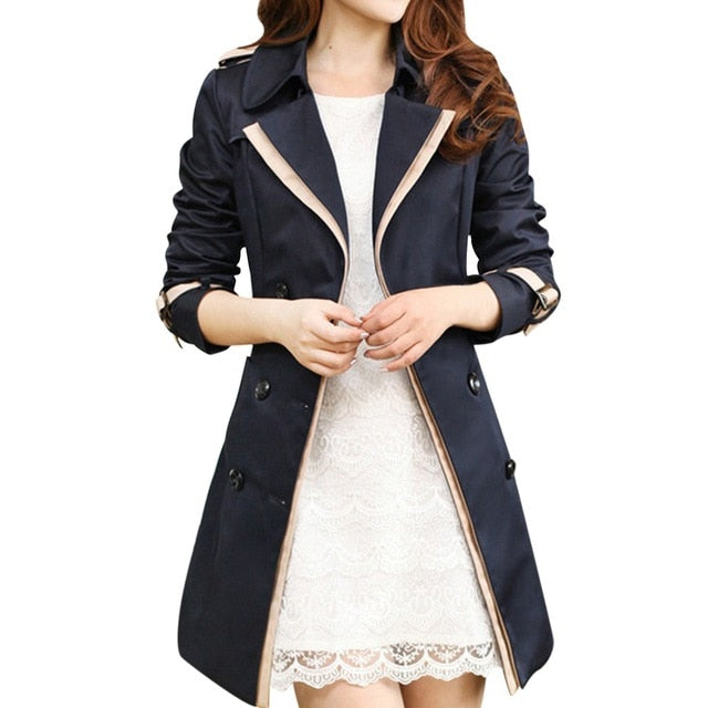 Fashion Thin  Women's Trench Coats