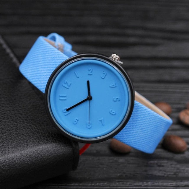 Women's Simple Fashion Number Watch