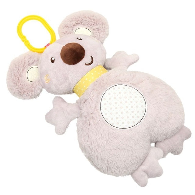Rabbit Sleeping Comfort Musical Plush Rattle Toy