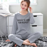 Women Autumn Pyjamas Set Women Sleepwear