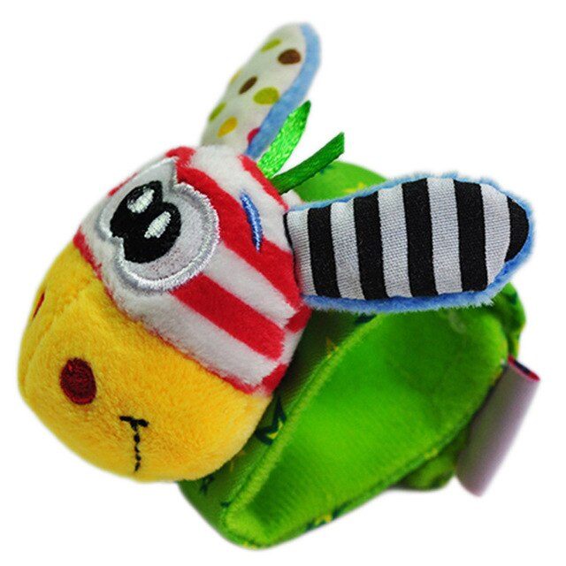 Infant Baby Rattles Toys Animal Pattern Strap Rattle Baby Foot Socks