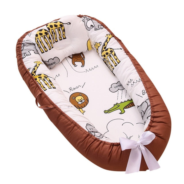 Newborn Baby Portable Removable And Washable Crib