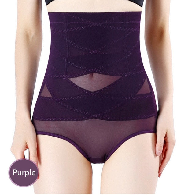 Women High Waist Trainer Body Shaper Panties