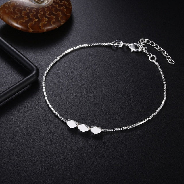 Crazy Feng Fashion Silver Color Stars Charm Bracelets