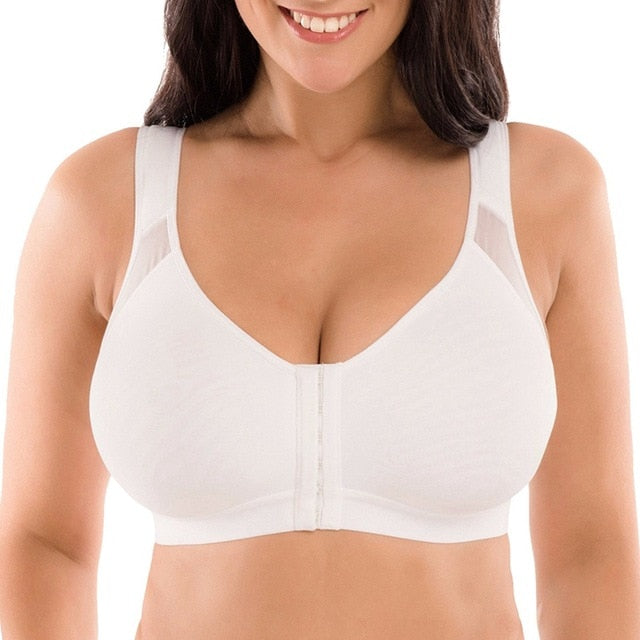 Posture Corrector Lift Up Bra Women New Cross Back Bra