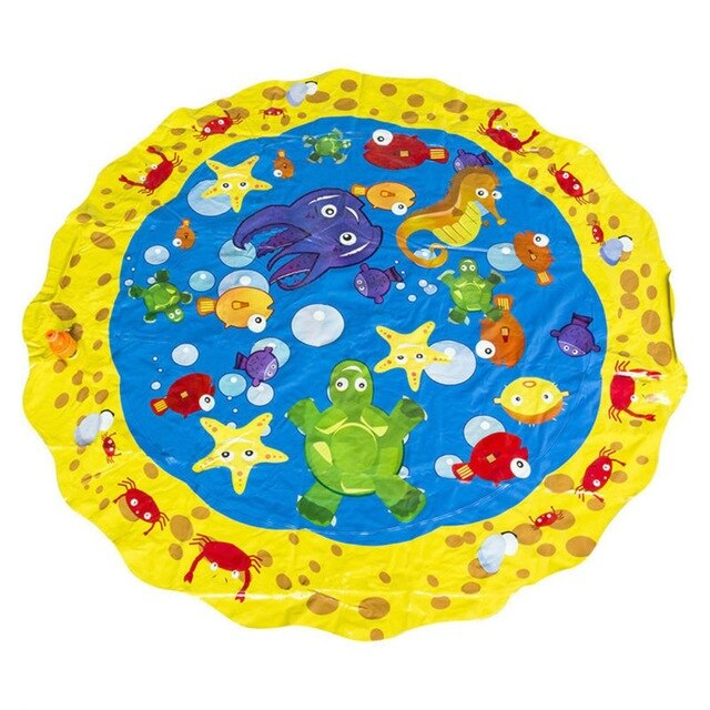 100cm Summer Children's Outdoor Play Water Games Beach Mat