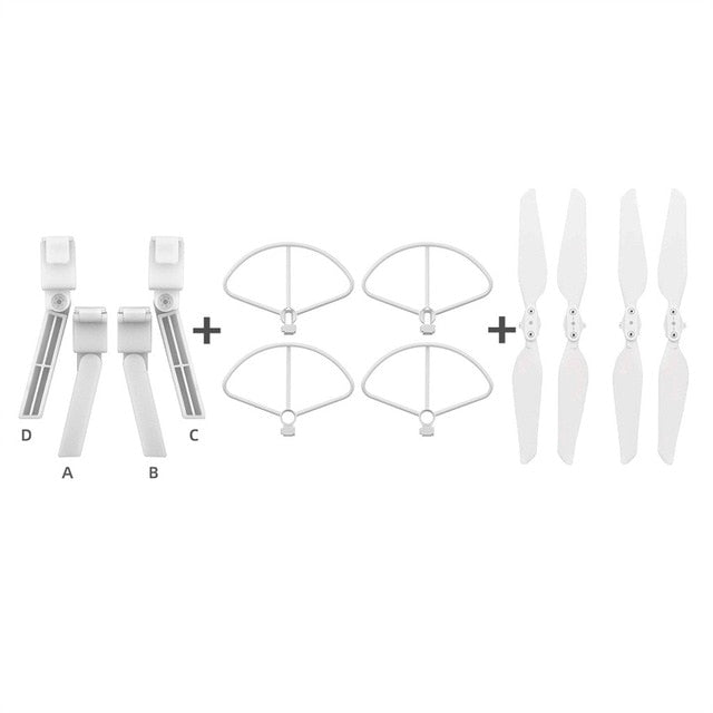 4PCS Folding Propeller+ Extended Heighten Leg Tripod
