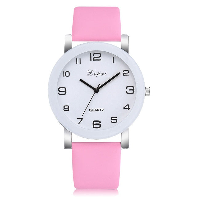 Women's Casual  Leather Band Watch