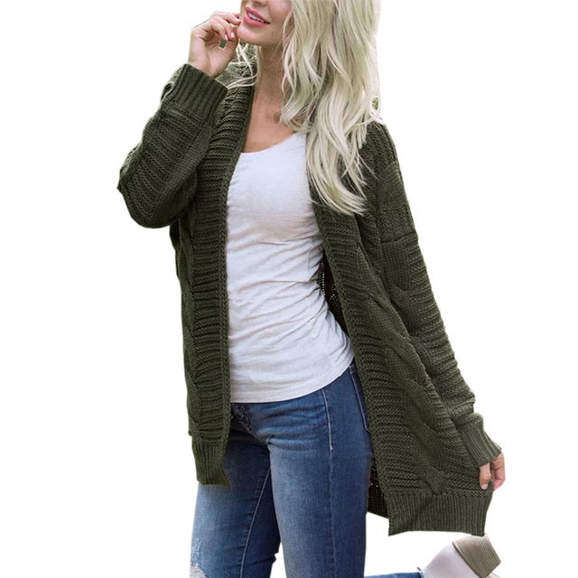 Winter Clothes Women Long Cardigans