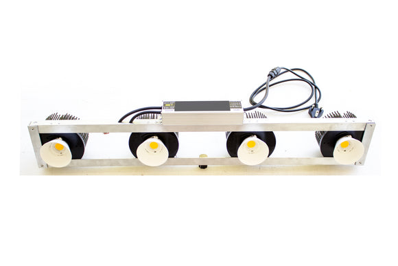200W COB LED grow light, straight frame, CREE Chip