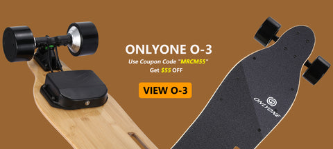 Faster? safer? Onlyone o-3 electric longboard is your best choice!