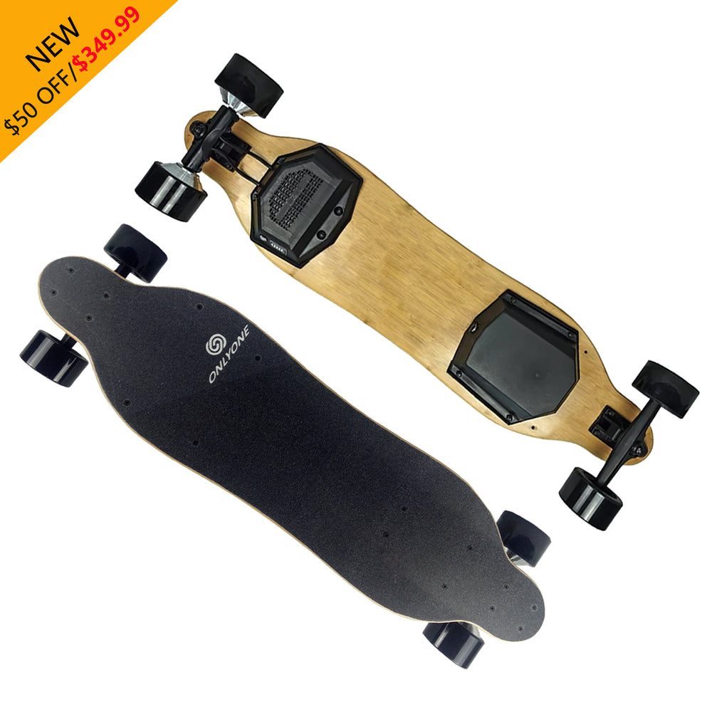 $349.99|38'' Onlyone O-6 Cheap Electric Longboard|Fast mode(28 MPH)
