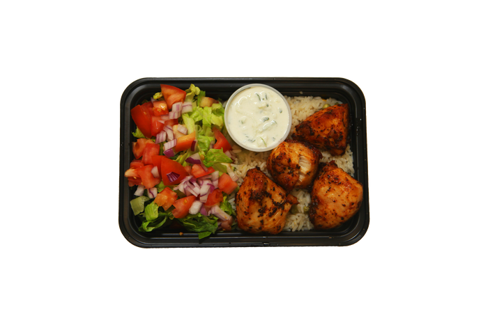 Balanced Chicken & Rice Plate (Cal 562)