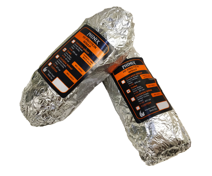 Builder Hi Protein Tuna Wrap (2 Wraps) (Cal Varies 600-700)