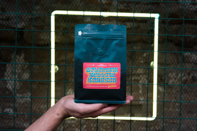 CAFE 3 CICLOS : COLOMBIA 5 / YELLOW BOURBON / 333 grs