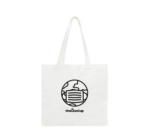ECRU - COTTON TOTE BAG - SMALL